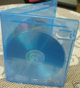 Details about 50 Quality 6mm Slim Double Blu-Ray DVD Cases w/Blu-Ray  Logo,BL0702,Free Shipping