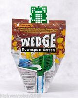 (12) Thermwell W103/12 Frost King  The Wedge  Downspout Filter Screens