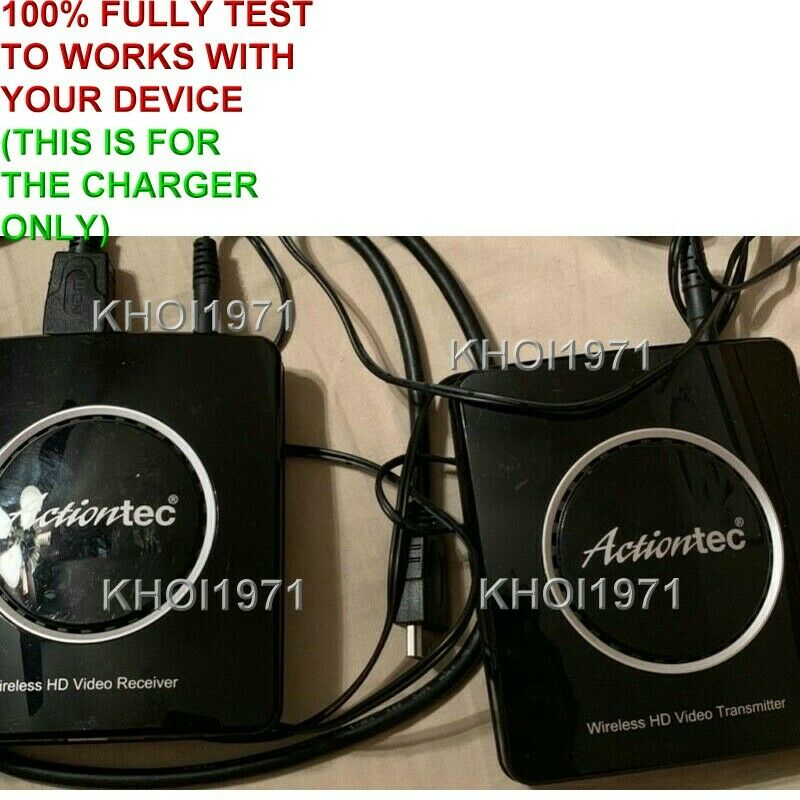 Wall AC Adapter for Actiontec MyWirelessTV2 HD HDMI Wireless Transmitter Video