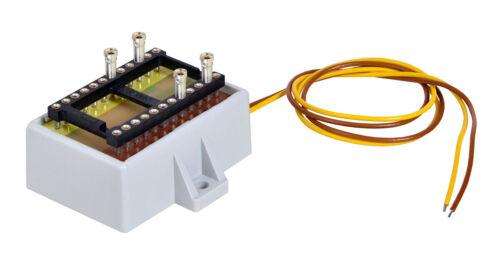 nuevo en OVP Viessmann 5205 barra de distribución con Power módulo +