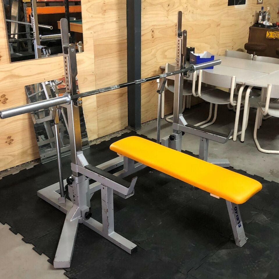 Squat rack, Powerlifting combo rack, Eleiko