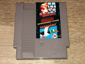 Super Mario Bros. / Duck Hunt Nintendo Nes Cleaned & Tested Authentic