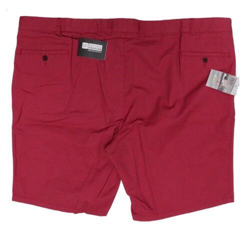 beige oder anthrazit Gr.66,68,70 NEU Übergröße schicke Herren Shorts in h.rot