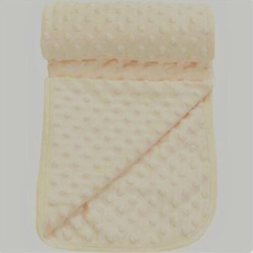 Cream Popcorn Textured//Dimple Effect Pram,Moses Blanket