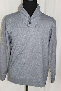 Marc-Ecko-Cut-amp-Sew-Men-039-s-Large-Gray-Pullover-L