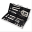 20 pc Stainless Steel BBQ Tool Set Grill Tool Set Barbecue Accessories Utensils