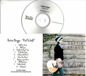 HATTIE-BRIGGS-Red-amp-Gold-2015-UK-10-trk-promo-test-CD