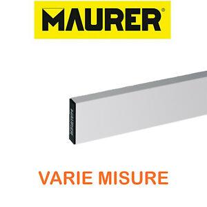 Stadia-staggia-riga-alluminio-rettangolare-muratore-intonaco-Maurer-VARIE-MISURE