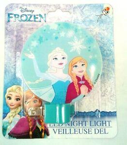 "NEW Disney Frozen ""Sister Love""  LED Night Light!  Princess Elsa & Princess Anna"