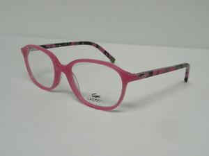 d04243c7439b Image is loading Lacoste-L3613-525-Fuchsia-48mm-Teen-Eyeglasses-Rx-