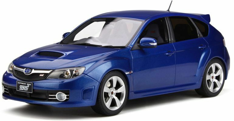 OTTO MOBILE 250 SUBARU IMPREZA WRX STI resin Modelll car Blau Mica 2008 Ltd 1 18th