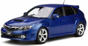 OTTO-MOBILE-250-SUBARU-IMPREZA-WRX-STI-resin-model-car-Blue-Mica-2008-Ltd-1-18th