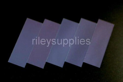5 BRAND NEW Indium Tin Oxide ITO Coated Transparent Conductive Glass Slides