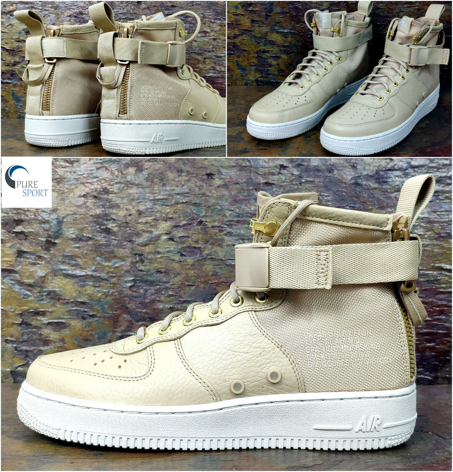 NIKE SF SPECIAL FORCES AIR FORCE 1 Mid Mens Trainers Uk 10  Eu 45 917753 200