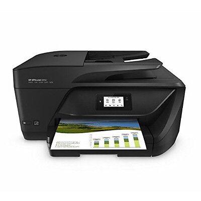 HP OfficeJet 6954 All-In-One Inkjet Printer with Print, Copy & Scan in Black