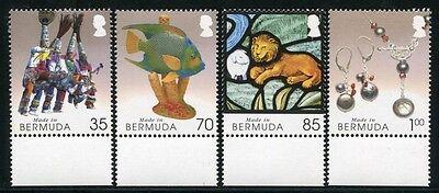 BERMUDA 2005 Kunsthandwerk III Karneval Fisch Perlen Löwe 891-894 ** MNH