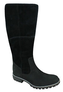 Oppd1 On c7 Slip Botas Timberland 17639 impermeable de Earthkeepers gamuza negro qRzqvEn