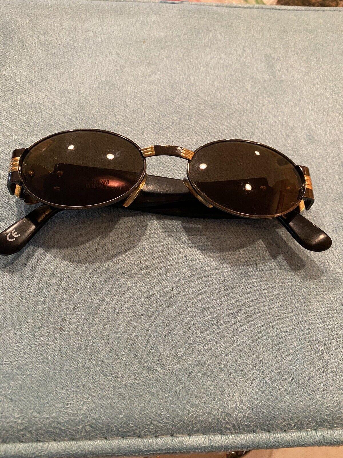 Authentic vintage Gianni Versace Medusa sunglasse… - image 1