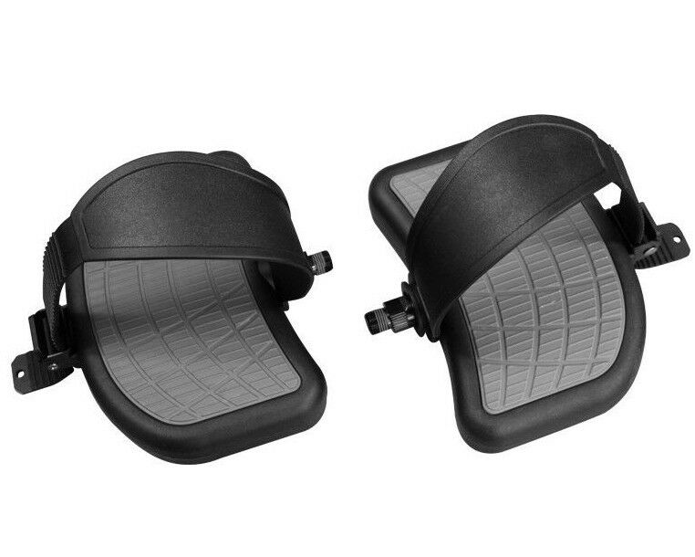 BIKE Pedals Pair 9 16  w Straps    Large HEAVY DUTY   Cybex AX-21383 Replacement  free shipping