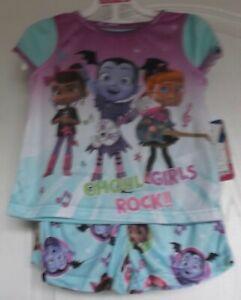 Girl's DISNEY'S VAMPIRINA  2-Piece Pajama Set Size 8 NWT