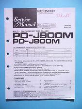 Service Manual für Pioneer  PD-J900M/PD-J800M ,ORIGINAL