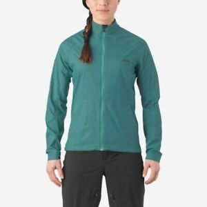 Giro Womens Stow Lightweight Wind Cycling Jacket - Faded Teal