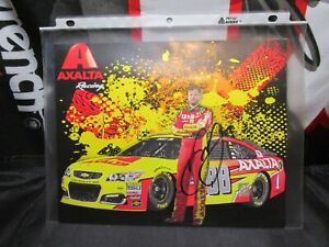 Dale-Earnhardt-Jr-AUTOGRAPHED-SIGNED-AXALTA-2017-NASCAR-Postcard-FINAL-SEASON