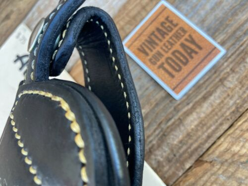 """Details about  /Alfonso/'s Black Leather Suede Lined Holster For S/&W 586 L Frame Revolver 4/"""""""