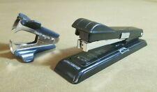 Vintage Bostitch B8 Stapler Black Lot Side Staple Remover Tested Works Retro Bn5