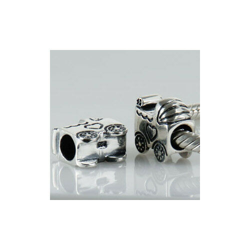 925 sterling Silver Love Charms Beads