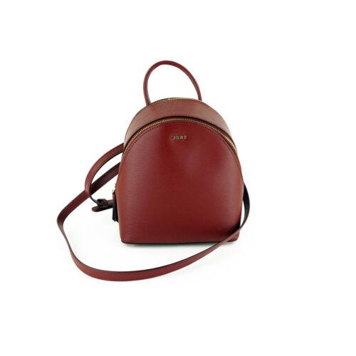 DKNY Bryant Small Leather Crossbody Bag Shoulder Bag Purse $228 Scarlet