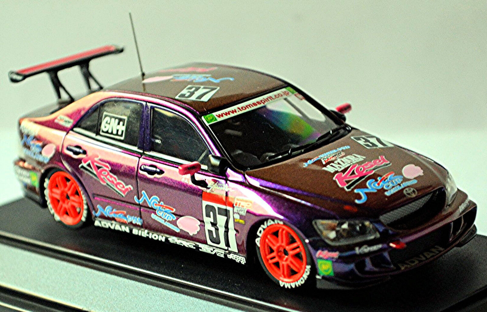 Toyota Altezza  37 Maziora Kosei 2003 lila effekt metal magic-paint 1 43 Ebbro  | Komfort