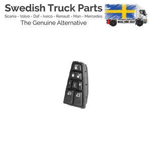 Volvo-FH-FM-Door-Window-Mirror-Control-Switch-21543897