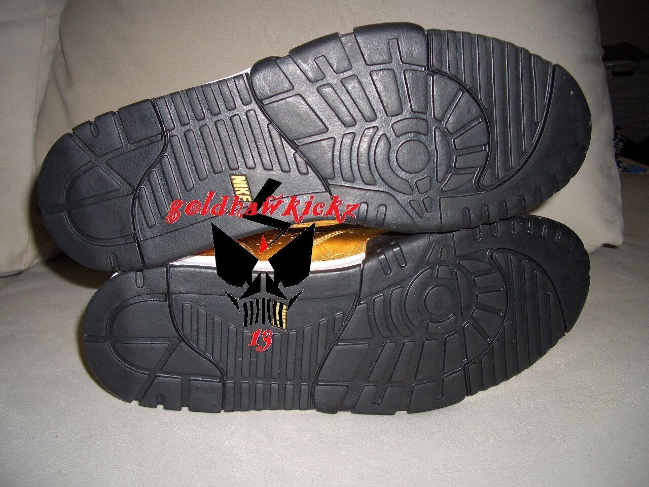 Nike Bowl Air Trainer 1 Premium Trainer QS NFL Super Bowl Nike 50  GOLD foil 840169-700 14fffd