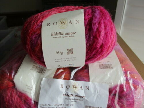 Rowan Yarns Kidsilk Amore silk mohair choose colour REDUCED TO CLEAR