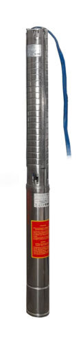 """IBO 4/""""ISPm5-14 SUBMERSIBLE PUMP130l//min,230V,1.5kW,278ft finest stainless steel"""