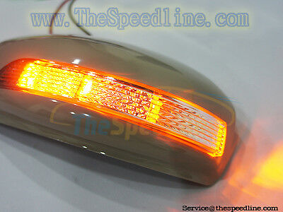 LED Turning Signal Mirror Cover Fits 09 10 11 12 INFINITI FX FX30d FX35 FX50 37