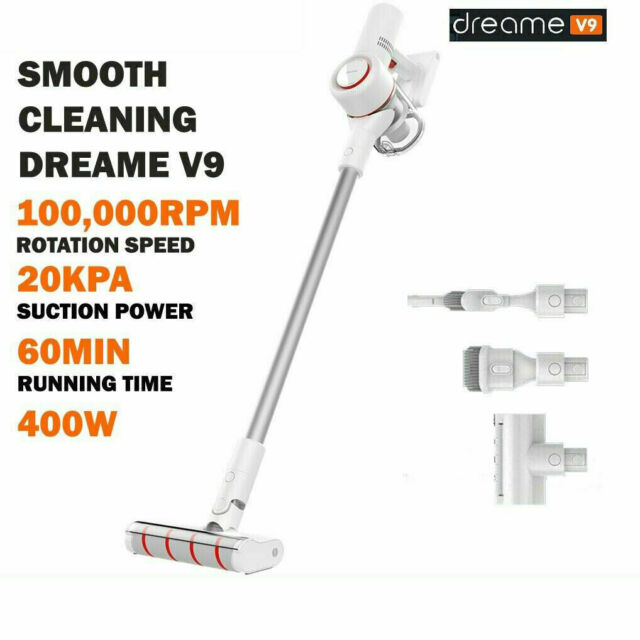 Xiaomi Dreame V9 cordless Handheld Vacuum Cleaner 20,000Pa Suction Gift Adapter