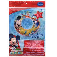 Disney Mickey Mouse Kids 20 Swimming Swim Ring Tube Toy Float