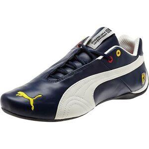 Ferrari Future Cat  Leather Men S Shoes