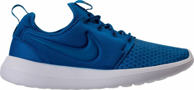 36723a752651 NIB Men s Nike Roshe Two Casual Shoes Blue Jay Light Armory Blue