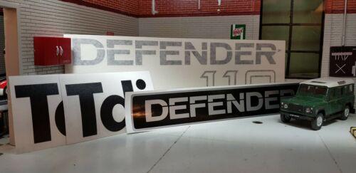 Repro Plata Chasis Completo Insignia Pegatina Juego para Defensor Lwb 110 Tdi