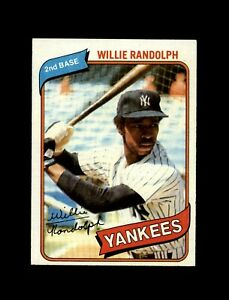 1980-Topps-Baseball-460-Willie-Randolph-Yankees-NM-MT