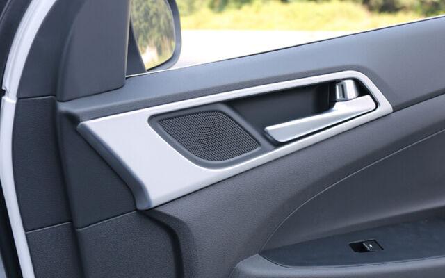 Matt Interior Door Handle bowl cover trim 4pcs For Hyundai Tucson 2016