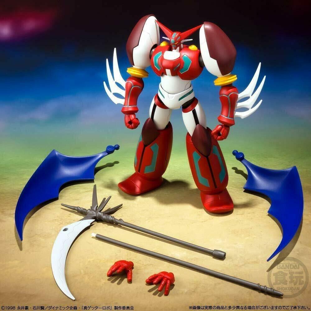 3 Box Completo Bandai Shokugan!! 2 GETTER Robot Super Minipla VOL.1 Getter 1