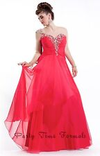 Party Time Formals 6620 Stunning Red Pageant Prom Gown Dress sz 16W