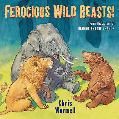 1 of 1 - Ferocious Wild Beasts by Christopher Wormell (Paperback, 2010)