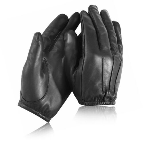 Police Army Anti Slash Fire Resistant Leather Gloves Combat Security Best Gloves