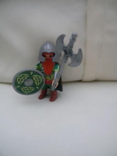 Playmobil Wikinger Barbaren Figur mit Zubehör Neuwertig