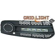 Coppia Luci Diurne Dayline DRL AUDI A4 07-11 LED omologazione R87 inclusa grigli